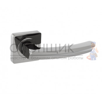 Ручка FERRE на квадратной розетке R06.033 BLACK NIKEL