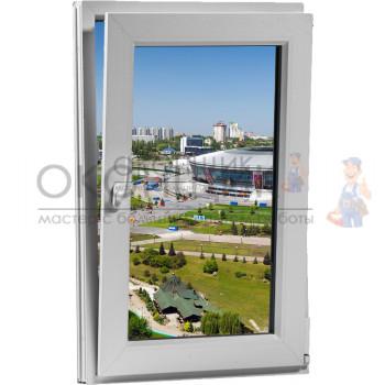 Одностворчатое поворотное-откидное окно 2-камеры PLAFEN T-LINE® (AXOR)