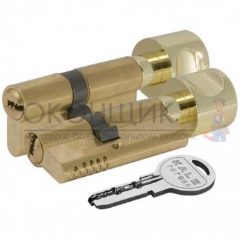 """Цилиндровый механизм KALE KILIT 164 OBS SCE/72 (30/10/32) """"Латунь"""" ключ-вертушка"""